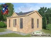 Log Cabin Poulton_le_Fylde 5m x 4m 002