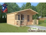 Log Cabin Preston 4m x 4m 001