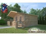 Log Cabin Preston 4m x 4m 002