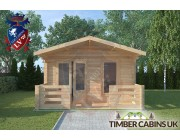 Log Cabin Preston 4m x 4m 003
