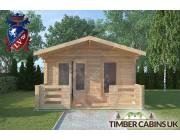 Log Cabin Preston 4m x 4m 003