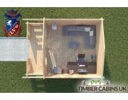 Log Cabin Preston 4m x 4m 004
