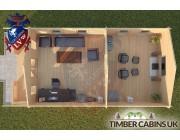 Log Cabin Quernmore 5m x 9m 004