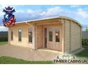Log Cabin Rhondda 8m x 3.5m 003