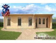 Log Cabin Rhondda 8m x 3.5m 004