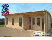Log Cabin Rhondda 8m x 3.5m 002
