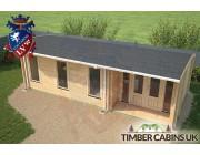 Log Cabin Rhondda 8m x 3.5m 005