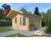 Log Cabin Ribchester 4m x 4m 002