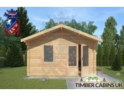 Log Cabin Ribchester 4m x 4m 003