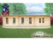 Log Cabin Rochdale 10.5m x 3.5m 004