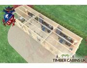 Log Cabin Rochdale 10.5m x 3.5m 005