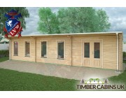 Log Cabin Rochdale 10.5m x 3.5m 002