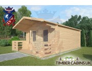 Log Cabin Rochdale 4m x 5m 002