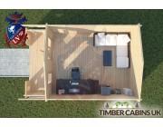 Log Cabin Rochdale 4m x 5m 004