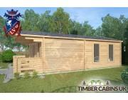 Log Cabin Rossendale 4m x 7m 002