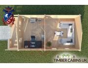 Log Cabin Rossendale 4m x 7m 004