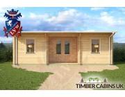 Log Cabin Rotherham 7.5m x 4m 006