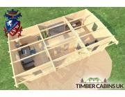 Log Cabin Rotherham 7.5m x 4m 005