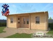 Log Cabin Rotherham 7.5m x 4m 002
