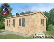 Log Cabin Rufford 6m x 4m 002