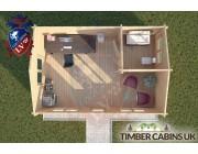 Log Cabin Rufford 6m x 4m 004