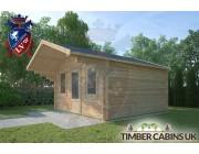 Log Cabin Sabden 4m x 4m 002