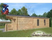 Log Cabin Salford 4m x 8m 002