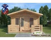 Log Cabin Salford 4m x 8m 003
