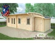 Log Cabin Salford 8.5m x 3.5m 002