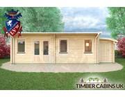 Log Cabin Salford 8.5m x 3.5m 004