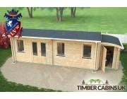 Log Cabin Salford 8.5m x 3.5m 005