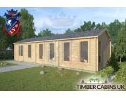 Log Cabin Samlesbury 10.5m x 3.5m 002