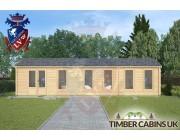 Log Cabin Samlesbury 10.5m x 3.5m 003