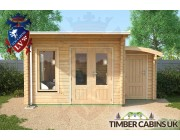 Log Cabin Sandwell 5m x 4m 004