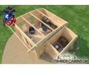 Log Cabin Sandwell 5m x 4m 006