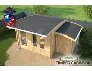 Log Cabin Sandwell 5m x 4m 005
