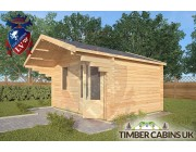 Log Cabin Sawley 4m x 3m 002