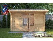 Log Cabin Scarborough 3.55m x 2.35m 003