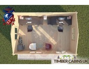 Log Cabin Scarisbrick 6m x 4m 004