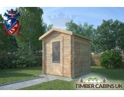Log Cabin Scottish Borders 2m x 2m 002