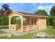 Log Cabin Sevenoaks 3.3m x 5.4m 002