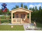 Log Cabin Sevenoaks 3.3m x 5.4m 003