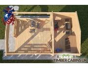 Log Cabin Sevenoaks 3.3m x 5.4m 004