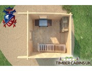 Log Cabin Sheffield 3m x 3m 006
