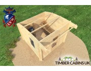 Log Cabin Sheffield 3m x 3m 005