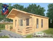 Log Cabin Silverdale 5m x 5m 002
