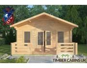 Log Cabin Silverdale 5m x 5m 003