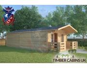 Log Cabin Skelmersdale 4m x 9m 001