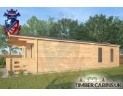Log Cabin Skelmersdale 4m x 9m 002