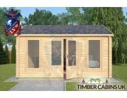 Log Cabin Slaidburn 4.5m x 3.5m 003